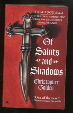 Okładka książki Of Saints and Shadows