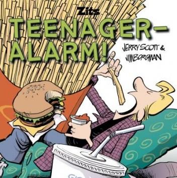Okładka książki Zits 5: Teenager-Alarm!