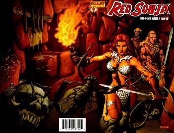 Okładka książki Red Sonja - She Devil With A Sword 04