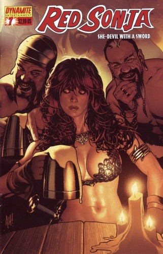 Okładka książki Red Sonja - She Devil With A Sword 07