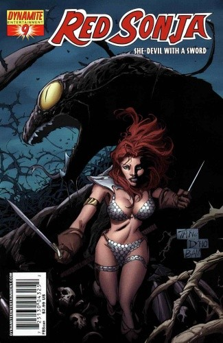 Okładka książki Red Sonja - She Devil With A Sword 09