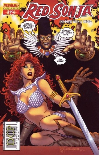 Okładka książki Red Sonja - She Devil With A Sword 12