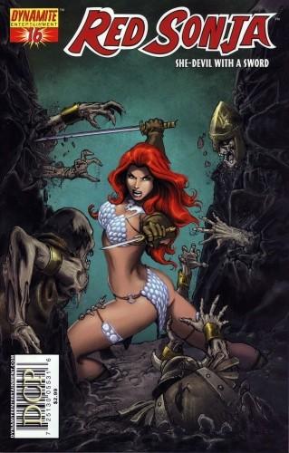 Okładka książki Red Sonja - She Devil With A Sword 16