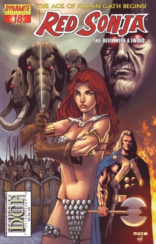 Okładka książki Red Sonja - She Devil With A Sword 18