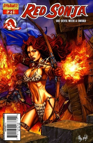 Okładka książki Red Sonja - She Devil With A Sword 21