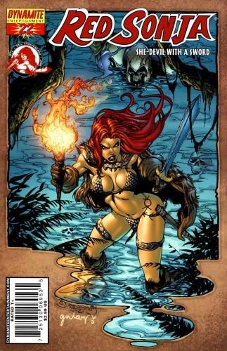 Okładka książki Red Sonja - She Devil With A Sword 22