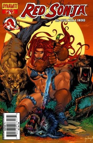 Okładka książki Red Sonja - She Devil With A Sword 24