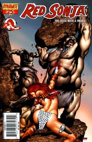 Okładka książki Red Sonja - She Devil With A Sword 25
