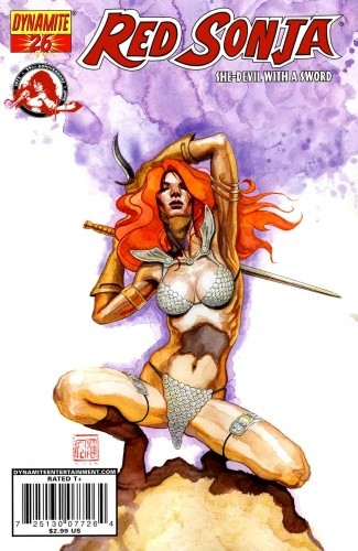 Okładka książki Red Sonja - She Devil With A Sword 26