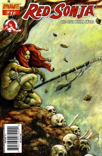Okładka książki Red Sonja - She Devil With A Sword 27