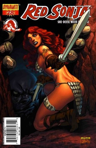 Okładka książki Red Sonja - She Devil With A Sword 28