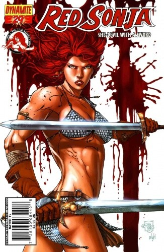 Okładka książki Red Sonja - She Devil With A Sword 29