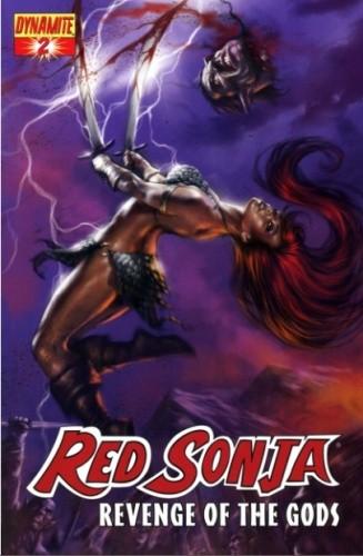 Okładka książki Red Sonja - Revenge of the Gods 02
