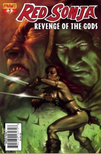 Okładka książki Red Sonja - Revenge of the Gods 03