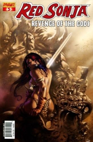 Okładka książki Red Sonja - Revenge of the Gods 05
