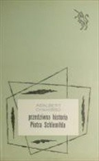 Okładka książki Przedziwna historia Piotra Schlemihla
