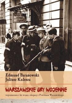 Okładka książki Warszawskie gry wojenne