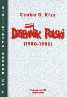 Okładka książki Dziennik polski (1980-1982)