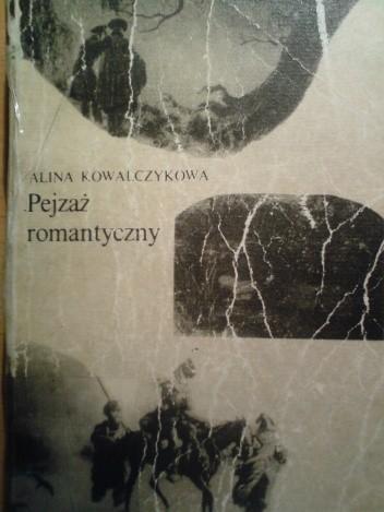 Okładka książki Pejzaż romantyczny