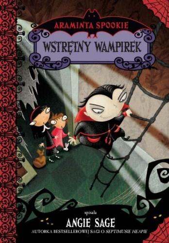 Okładka książki Wstrętny wampirek