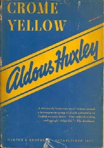 Okładka książki Crome Yellow