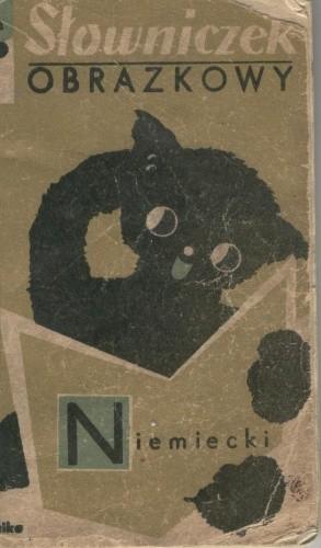 Okładka książki Słowniczek obrazkowy niemiecki