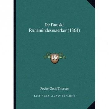 Okładka książki De Danske Runemindesmaerker