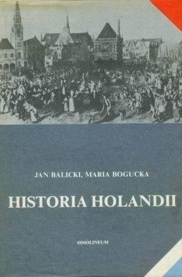 Okładka książki Historia Holandii
