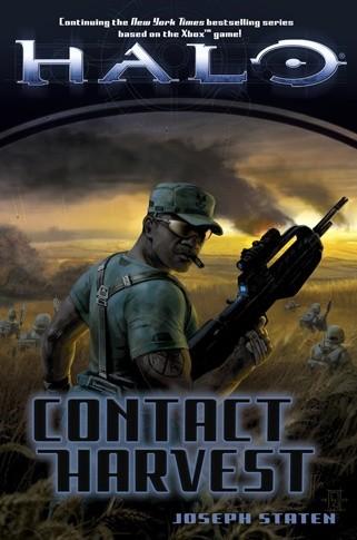 Okładka książki Halo: Contact Harvest