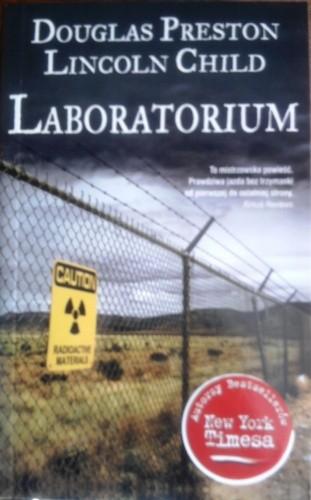 Okładka książki Laboratorium