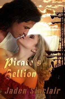 Okładka książki A Pirate's Hellion