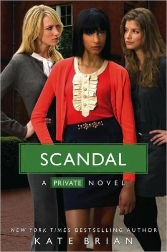 Okładka książki Scandal