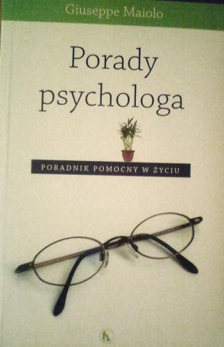 Okładka książki Porady psychologa