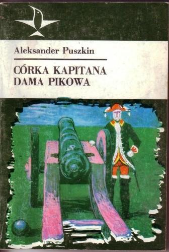 Okładka książki Córka kapitana, Dama pikowa