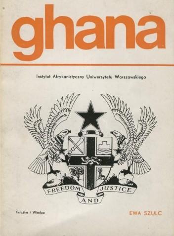 Okładka książki Ghana