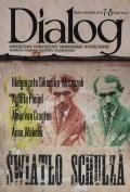 Okładka książki Dialog, nr 7-8 (656-657) / lipiec-sierpień 2011. Światło Schulza
