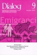 Okładka książki Dialog, nr 9 (646) / wrzesień 2010. Emigranci