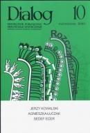 Okładka książki Dialog, nr 10 (647) / październik 2010. Rozczapierzanie