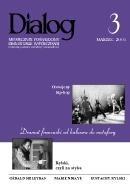 Okładka książki Dialog, nr 3 / marzec 2005