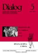 Okładka książki Dialog, nr 5 / maj 2005