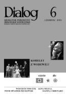 Okładka książki Dialog, nr 6 / czerwiec 2005