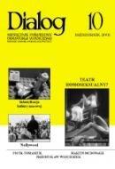 Okładka książki Dialog, nr 10 / październik 2005