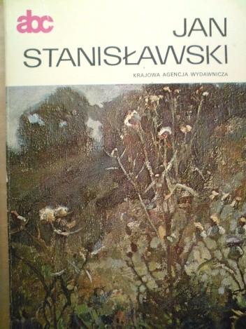 Okładka książki Jan Stanisławski