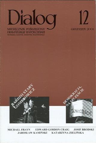 Okładka książki Dialog, nr 12 / grudzień 2004