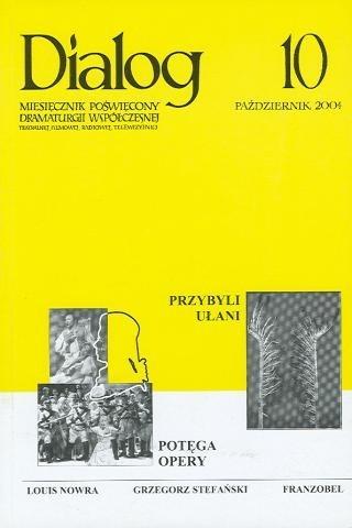 Okładka książki Dialog, nr 10 / październik 2004