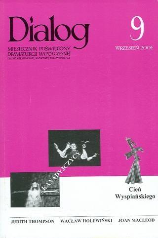Okładka książki Dialog, nr 9 / wrzesień 2004