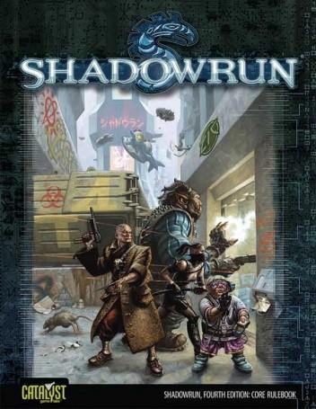 Okładka książki Shadowrun Fourth Edition