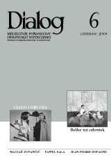 Okładka książki Dialog, nr 6 / czerwiec 2004