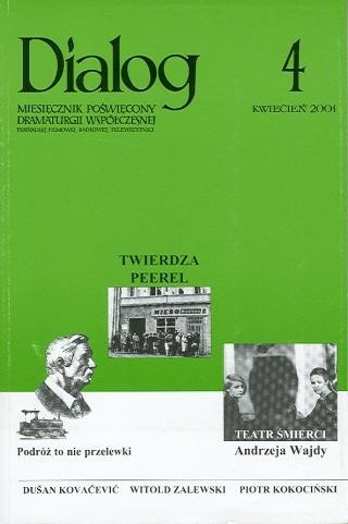 Okładka książki Dialog, nr 4 / kwiecień 2004