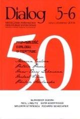 Okładka książki Dialog, nr 5-6 / maj-czerwiec 2006. Przyszłość dialogu w teatrze